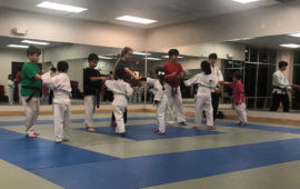 karate class for kids
